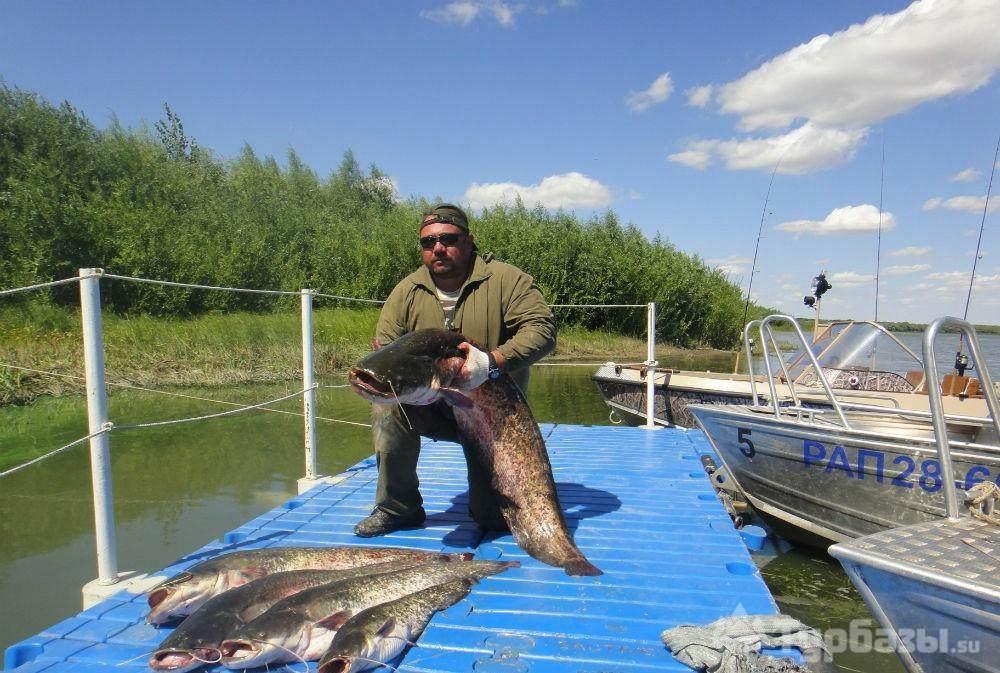рыболовные базы рыбалка в районе